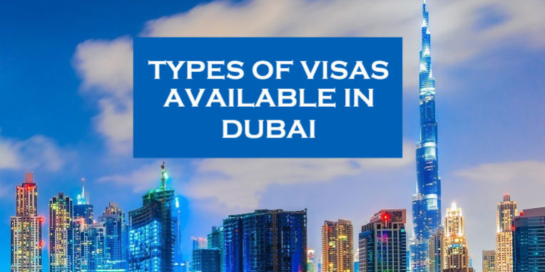 The different types of visas issued by Dubai